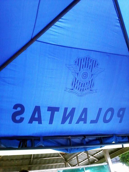 tenda biru