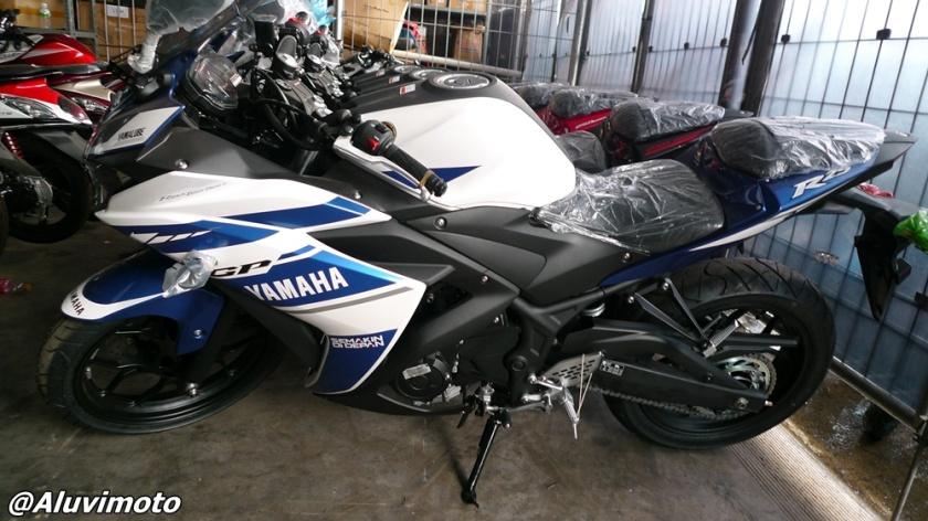 aluvimoto yamaha r25 gp edition