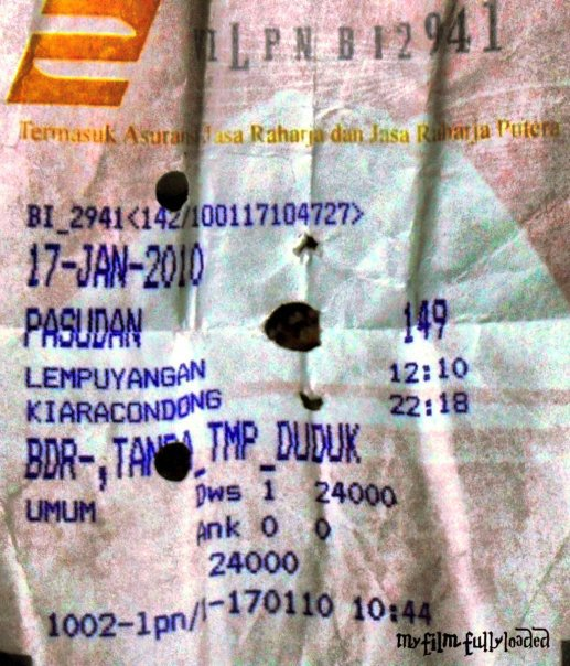 tiket pasundan 2010 aluvimoto