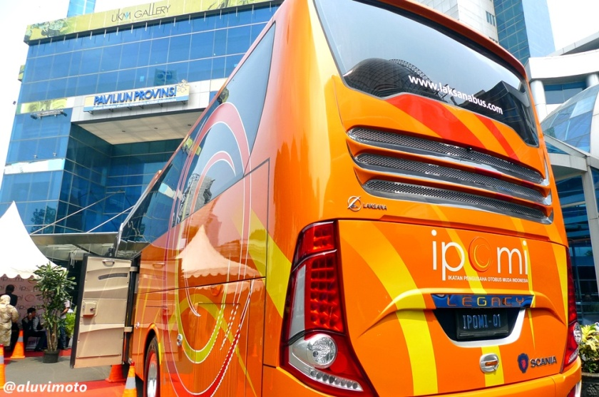 aluvimoto buritan IPOMI all new legacy skybus