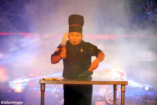 aluvimoto chef attraction launching all new cbr150r yogyakarta