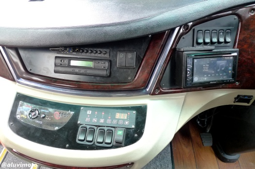 aluvimoto konsol dashboard IPOMI k360ib all new legacy skybus