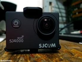 SJCAM SJ4000 wifi + case indoor :roll: