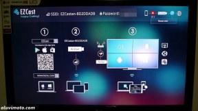 tampilan di monitor ezcast aluvimoto