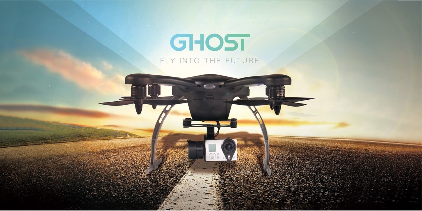 aluvimoto banner ghost drone aerial plus