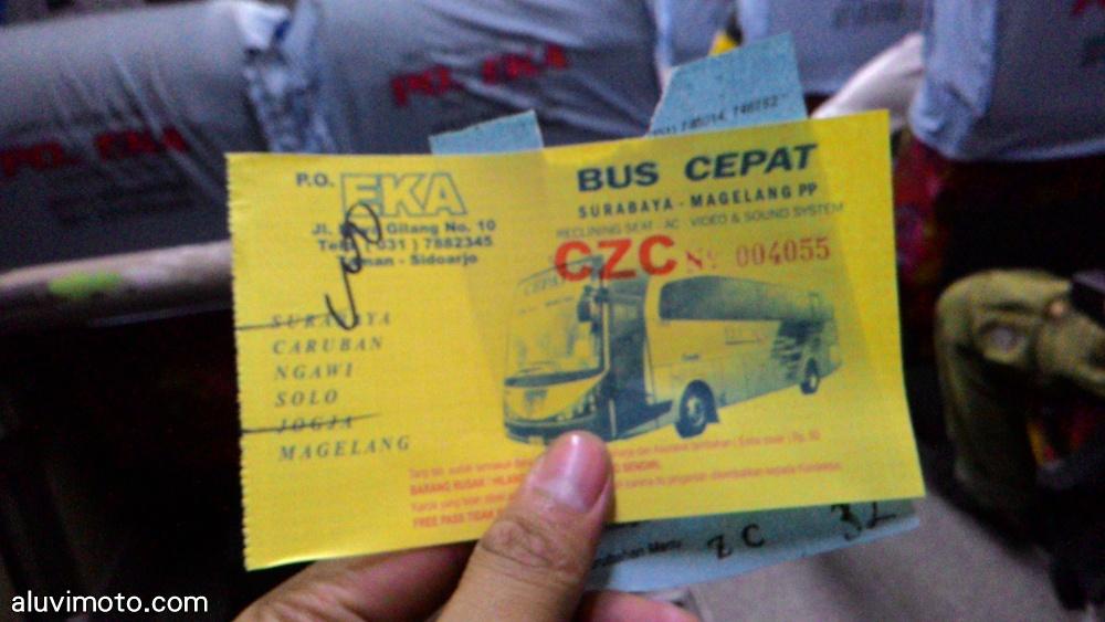 Harga Tiket Bus Surabaya Jogja Aluvimoto