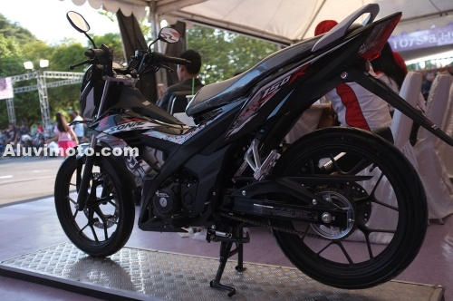 all new sonic 150r aluvimoto