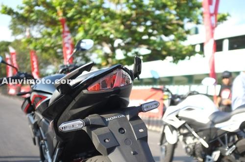 lampu belakang all new cb150r aluvimoto