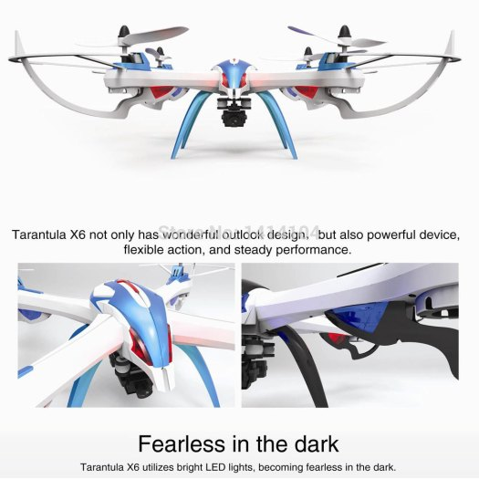 New-YiZhan-Tarantula-X6-2-4G-4CH-RC-Quadcopter-Plane-With-2MP-Camera-aluvimoto
