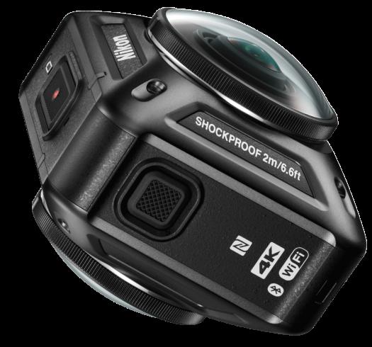 Nikon KeyMission 360 indonesia samping aluvimoto