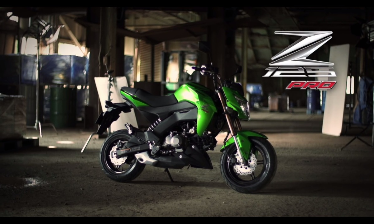 "Kawasaki Z125 Pro, Pocket bike ""tiga puluhjeti"""
