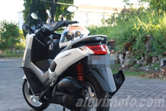 aluvimoto shock belakang nmax ride it 2